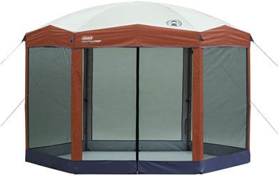 1. Coleman Screen Canopy Tents with Easy Setup