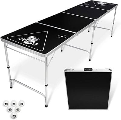 1. GoPong Store 8-Foot Foldable Beer Pong Tables