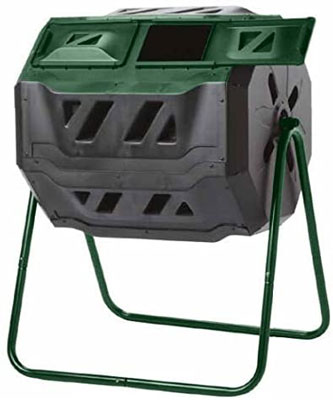 6. Exaco Trading Company Lightweight Outdoor Compost Bin