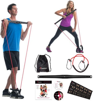 2. Bodygym Core System Portable Exercise Equipment