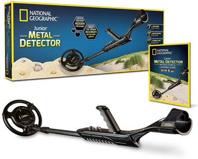 2. NATIONAL GEOGRAPHIC kids metal detector