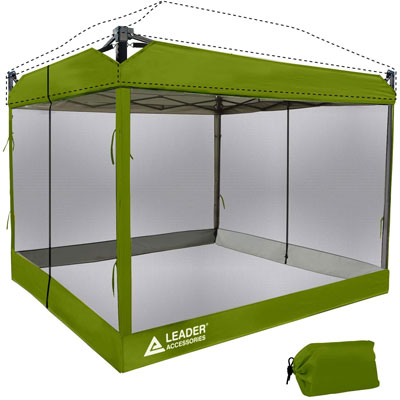 4. Leader Accessories Tent with 2 Zippers Entry