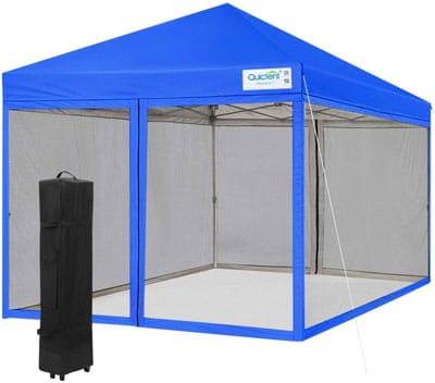 2. Quictent Screen Tents with net Covers