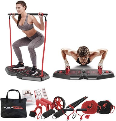 6. Fusion Motion Portable Gym System