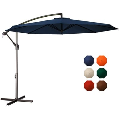 Meway Rotating Cantilever Patio Umbrella