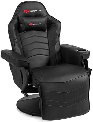 7. Goplus Gaming Chair with Backrest and Footrest