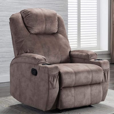 CANMOV Recliner Chair with 2 Cup Holders