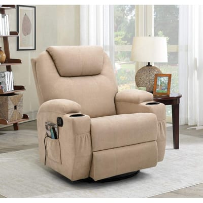 Flamaker Recliner Chair with Massage and Heating