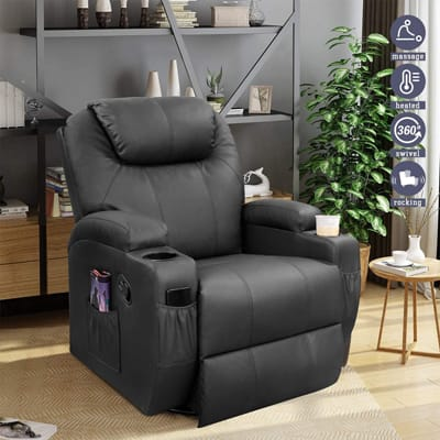 Furniwell Recliner Chair Massage
