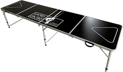 6. Games On Tap Lightweight Foldable Table
