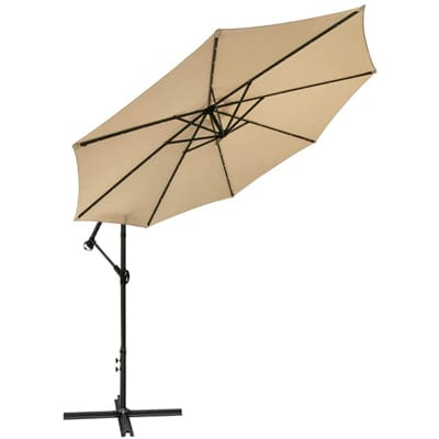 Diophros Hanging Umbrella with LED