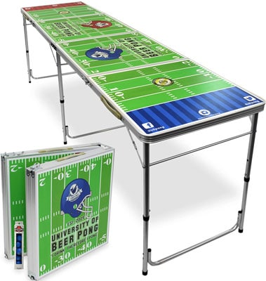 7. University of Beer Pong Table