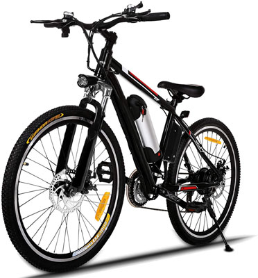 4. Hicient Electric Bicycle with Headlights