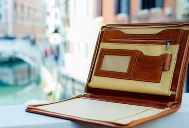 best leather padfolio