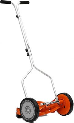 1. American Red 4-Blade Lawn Mower