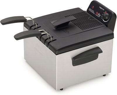 5. Presto Deep Fryer with 2 Baskets