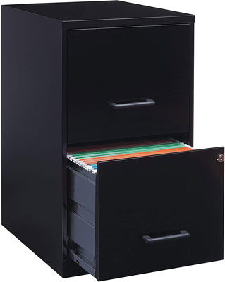 1. Lorell File Cabinet with 2 Drawers
