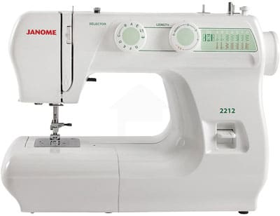 3. Janome Sewing Machine with Adjustable Stitch
