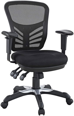 1. Modway Ergonomic Chair in Black