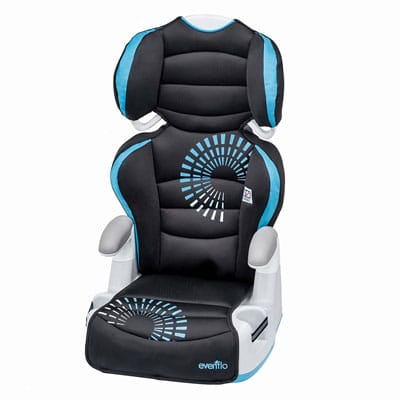 2. Evenflo Big Kid 2-in-1 Booster Seat