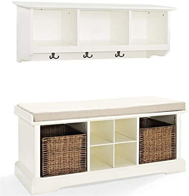 8. Pemberly Row Shelf Set