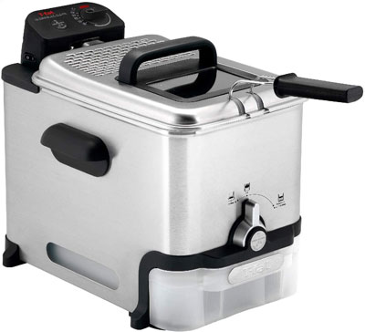 1. T-Fal Deep Fryer with Oil Filter