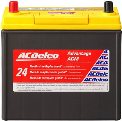 3. ACDelco Car Battery Group 51