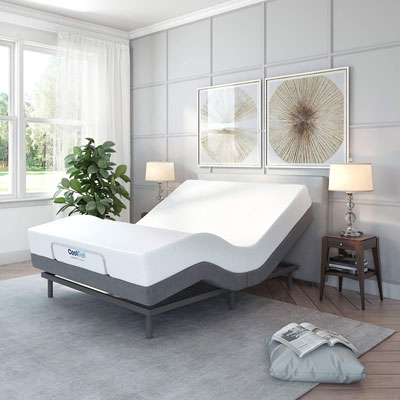 1. Classic Brands Wireless Adjustable Bed