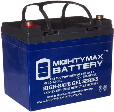 7. Mighty Max Rechargeable Car Battery