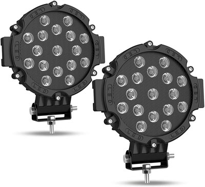 5. AUTOSAVER88 7 Inch LED Lights