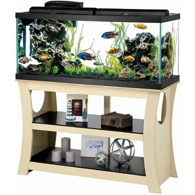 Aqueon Trends Wood Aquarium Stand