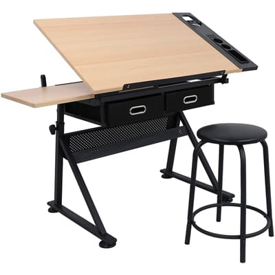 ZENY Height Adjustable Table Desk