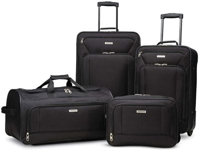2. American Tourister Softside Luggage Set