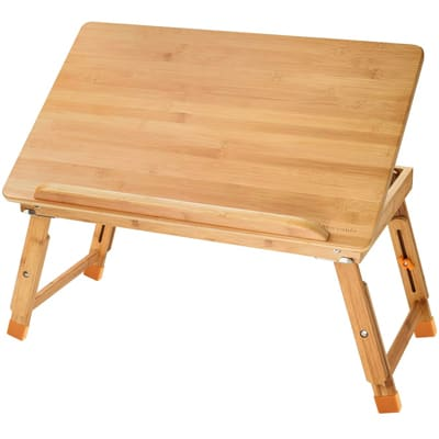 NNEWVANTE Bamboo Drafting Table
