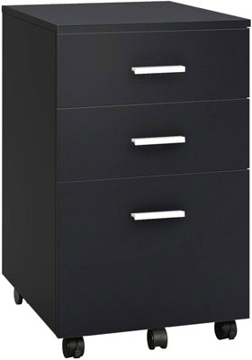 4. DEVAISE File Cabinet with 3 Drawers