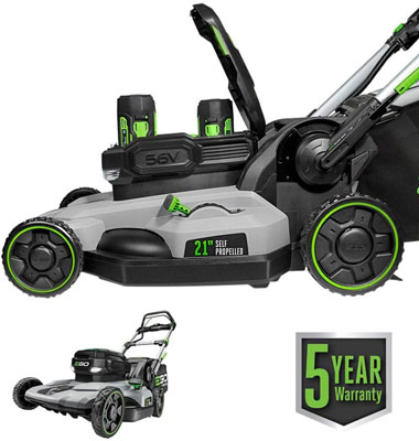 7. EGO Power Lawn Mower with PeakPower