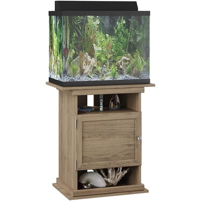 Flipper Aquarium Stand with Door