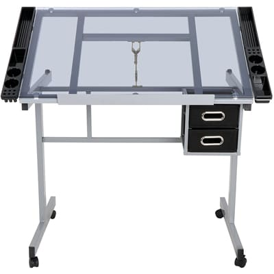 JupiterForce Drafting Table with Drawers