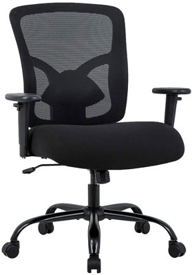 2. BestOffice Chair with Lumbar Support