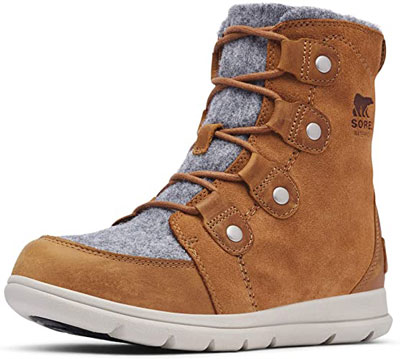 10. Sorel Breathable Hiking Boots For Women