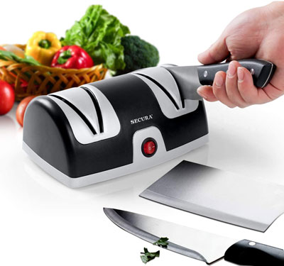 5. Secura Electric Knife Sharpening Tool