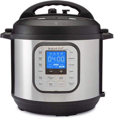 1. Instant Pot Electric Pressure Cooker