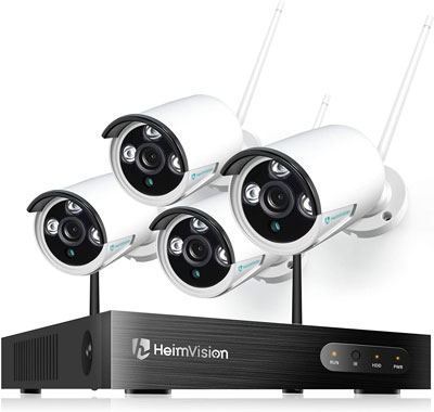 2. Hemivision Home Security Camera System