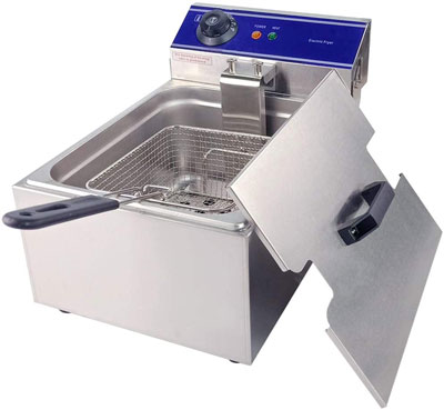 10. TAIMIKO Stailess Steel Fryer