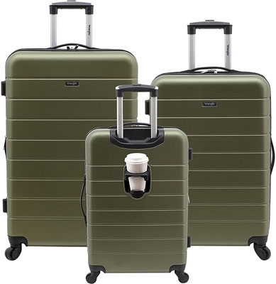 6. Wrangle Luggage Set with USB