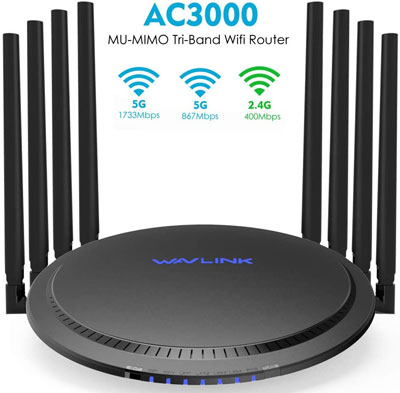 9. WAVLINK Tri-band Router