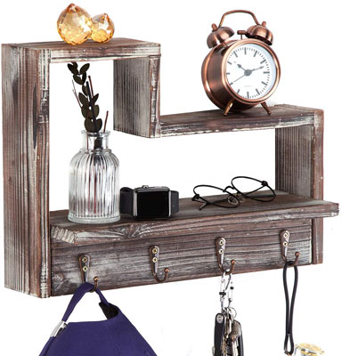 10. J JACKCUBE DESIGN Rustic Shelf