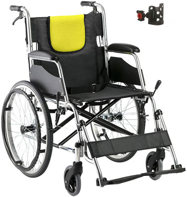 10. HD HOUDELL Adjustable Wheelchair