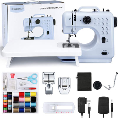 6. Magicfly Sewing Machine with 12 Stitches