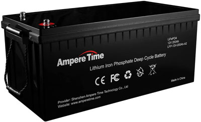 9. Ampere Time Lightweight Car Battery